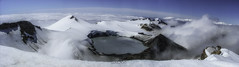 Mout Ruapegu Crater Lake (Krokozund) Tags: ruapehu crater lake volcano panorama landscape travel snow north island new zealand tongariro national park