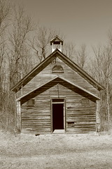 School 4 Section (pegase1972) Tags: school house oneroomschool rural old building vintage historical small wooden historic schoolhouse tower background structure education country ontario canada on