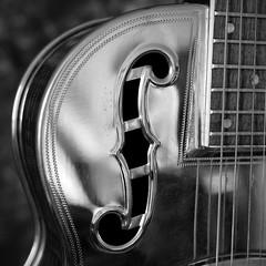 1935 Dobro (TPStearns) Tags: monochrome guitar blackandwhite bw rx1