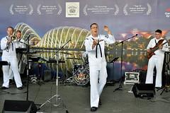 Musical Performance (chooyutshing) Tags: musicalperformance unitedstatesnavyband us7thfleetband gardensbythebay baysouth marinabay singapore