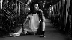 Marielle (FlorianPascual) Tags: ifttt 500px sweden girl tattoos black white naturer nature natural light blackandwhite naturallight