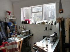 Upholsterers workshop. Liverpool UK. (James Holme) Tags: upholsterer liverpool unitedkingdom uk merseyside