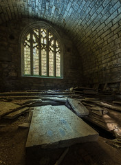 Lugosi Crypt - Hidden in the woods in the Scottish Highlands