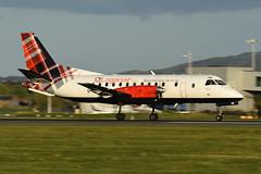 G-LGNB Saab 340B EGPH 10-05-18 (MarkP51) Tags: glgnb saab 340b loganair lm log edinburgh airport edi egph scotland aviation aircraft airplane plane image markp51 sunshine sunny nikon d7200 aviationphotography