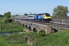 43480 Radwell (Gridboy56) Tags: europe england emt 43423 43480 1c52 sheffield stpancras london uk railways railroad radwell bedfordshire riverouse intercity125 hst highspeedtrain