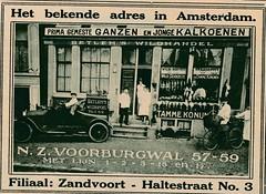 de stad Amsterdam 1923   adv Poulier (janwillemsen) Tags: advertising amsterdam 1923 magazineillustration