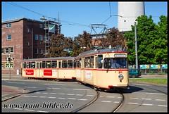 811-2018-05-06-5-Utbremer Straße (steffenhege) Tags: bremen bvag strasenbahn streetcar tram tramway historischertriebwagen historischerzug grosraumwagen hansa 811