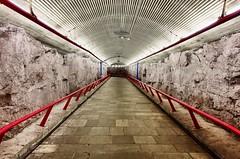 Red and blue at Romsås metro (jonarnefoss2013) Tags: rx100mk5 romsås ruter oslo sporveien sonyrxmoments