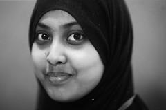 Zeinab's Elder Sister (N A Y E E M) Tags: haleema student auw asianuniversityforwomen portrait availablelight indoors chittagong bangladesh