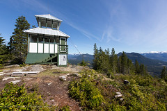 Woss Lookout (Jason Pineau) Tags: woss fire lookout restore restoration tower wildfire forest view vancouverisland britishcolumbia