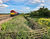 66185 at Worlaby (robmcrorie) Tags: 66185 worlaby lincolnshire kellingley killingholme train rail railway freight iphone 7 plus carr lane