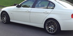 ESR RF1 Wheels (Johnny-boi) Tags: esr rf1 wheel wheels rim rims hyper black 18x85 18x95 bmw e90 330i michelin pilot sport all season 3 plus bimmer tires best