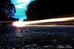 Long exposure (Niklas_Rose) Tags: long exposure ligth red rot gelb yellow langzeitbelichtung street strase landstrase