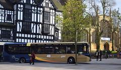 Stagecoach Midlands Alexander Dennis Enviro 200 MMC, 26215 (paulburr73) Tags: sn67xdh 26215 stagecoach midlands midlandredsouth e200mmc enviro200 adl alexanderdennis coventry warwickshire bus april 2018 majormodelchange trinitystreet ironmongerrow smr gold branding service48 leicester