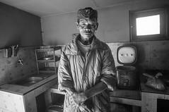 (kuuan) Tags: indonesia voigtländerheliarf4515mm manualfocus mf voigtländer15mm aspherical f4515mm superwideheliar apsc sonynex5n bromo bromonationalpark bromotenggersemerunationalpark bw jawa eastjawa portrait farmer man hindu java