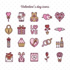 free vector Happy Valentines Day Icons (cgvector) Tags: abstract amour art background banner beautiful calligraphy card celebration color couple day decor decoration decorative design dia dos emotion feeling gift greeting happy heart hearts holiday icons illustration image letter love lover namorados ornament paper present red retro ribbon romance romantic san shape shiny sticker symbol template text typography valentin valentine valentines valentinesday vintage wedding whitevalentinedaylovebackgroundcardvectortextheartroseflowerdecorationbannerredabstractdesignartvalentinesdayholidaycelebrationgraphicdecorfebruary14letteringbeautifulcalligraphyhappyfebruary