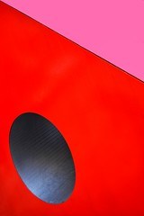 Red (agnes.mezosi) Tags: minimalism minimalistic abstract abstractart geometric geometry urban detail