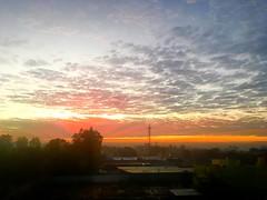 Morning sky @ Bangalore (tojsrevathy) Tags: sun clouds nature bangalore sky morning