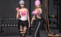 Crossfitter ♫ (Selena Paine) Tags: secondlife catwa maitreya foxy taketomiwest atelierpepe evani