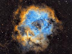Rosette Nebula NGC2237 (eBear Foto) Tags: rosette ngc2237 astrophotography nebula stars rosettenebula astro nightphotography astrometrydotnet:id=nova2541333 astrometrydotnet:status=solved