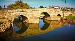 Ponte de São Miguel de Arcos (vmribeiro.net) Tags: vila do conde portugal ponte são miguel arcos bridge medieval middle ages roman sony z1 santiago way caminho camino central portugues