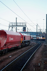 Home Team Colours... (marcus.45111) Tags: thelastdbc6e56 eastcoastmainline 66041 class66 gm moderntraction 43206 highspeedtrain intercity125 class43 colourred flickr flickruk canonrailwayphotography 2018 dbs60100