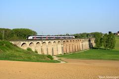 En thermique sous électrique (Lion de Belfort) Tags: train chemin de fer sncf intercités b 85000 coradia liner viaduc ballersdorf gommersdorf ligne l4 4 alsace