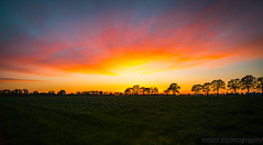 sunset (mby.photography) Tags: nikon d600 scenery netherlands hdr cloud clouds sun nightfall