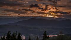 Fin de journée en Matheysine (Isère) - France (pascal548) Tags: lac nuit vercors ciel isère france