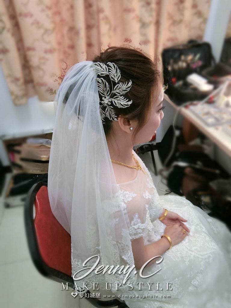 【新秘蓁妮】bride琦蓁 結婚造型 / 關廟山西宮活動中心
