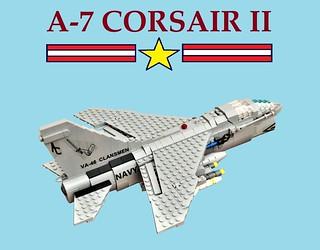LEGO LTV A-7 Corsair II
