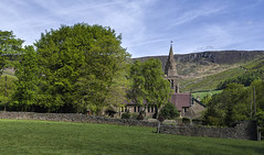 85O_5223 The Holy and Undivided Trinity  Church at Edale (Rattyman76) Tags: edale church peakdistrict