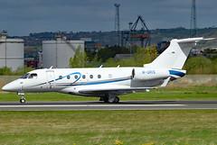 M-ORIS (GH@BHD) Tags: moris embraer emb emb550 legacy legacy500 tjmorris bhd egac belfastcityairport bizjet corporate executive aircraft aviation