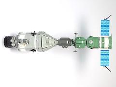 Apollo-Soyuz Test Project 1:32 Scale LEGO Model (LuisPG2015) Tags: