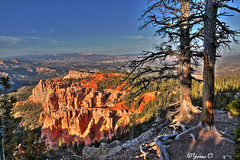 Bryce Canyon HDR (Yvonne Oelsner) Tags: brycecanyon utah landscape scenery hdr sky