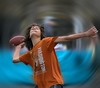 Tunnel Vision (Scott 97006) Tags: kid windup football throwing throw might