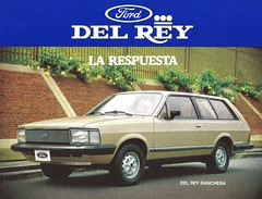 1983 Ford Del Rey Ranchera (Hugo-90) Tags: ford corcel delrey belina ads advertising brochure