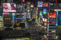 Shibuya (B Lucava) Tags: tokyo shibuya crossing signs screen building city cityscape night urban 109 crowd bitcoin hikarie touit2850 touit2850m zeiss touit