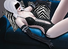 Mila Blauvelt (Mila Blauvelt) Tags: milablauvelt model avatar virtual secondlife shopping sl event swank bodysuit bodymesh leather leopard designers dress dressfashion designer giuliadesign exclusive evento