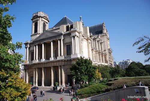 Париж Сент-Есташ InterNetri  France 073