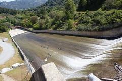 Los Padres Reservoir Spillway