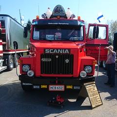 Scania LT 146 (skumroffe) Tags: scanialt146 scania lt146 lt 146 truck lorry lastbil camion lkw stockholmtruckmeet2018 stockholmtruckmeet stm gillingebanan gillinge vallentuna stockholm sweden truckmeet dragbil