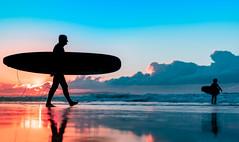 Sunrise 19th May 2018 (Michael.Sutton) Tags: sunrise sunset dusk dawn silhouette surfing cronulla sydney australia