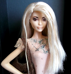 Barbie OOAK (MonikafashiondollsFR) Tags: barbie collector andy warhol campbells soup silver label 2016 doll