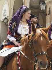 Cavalcata sarda (clausterrible) Tags: sardinia sassari italy sardinianjewelry sardinianevent style horse beauty cavalcatasarda sonya5100 sony alpha5100 amazzone cavaliere jewelry equestrian