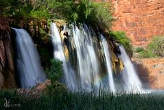 Upper Navajo Falls (valentina425) Tags: navajo falls waterfall arizona grandcanyon cascade adventure nature havasupai ngc rainbow