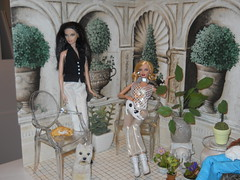 room cream terrace 2 (chinadreammommy) Tags: 16 doll diorama barbie rement miniature