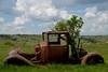 Citroën C6 en épave depuis 1962 (Michel Seguret Thanks for 12 M views !!!) Tags: vehicle vehicule voiture car wagen epave carcasse abandoned citroen c6