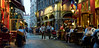 Lyon Nightlife (szeke) Tags: lyon france bellecour street nightlife lights people restaurant building cobblestone