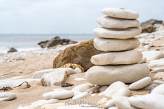 Stacked (Bogtramp) Tags: kpkphotography shingle nikon east water rocks chalk d500 yorkshire kitching stack coastal beach sky sand flamborough coast uk sea